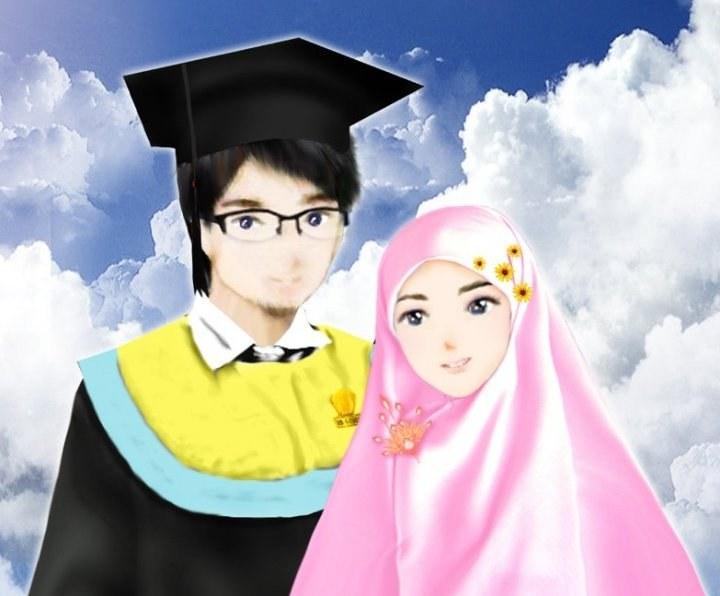 Ide Muslimah Kartun Keren Txdf Wallpaper Gambar Kartun Muslimah Keren Terbaru