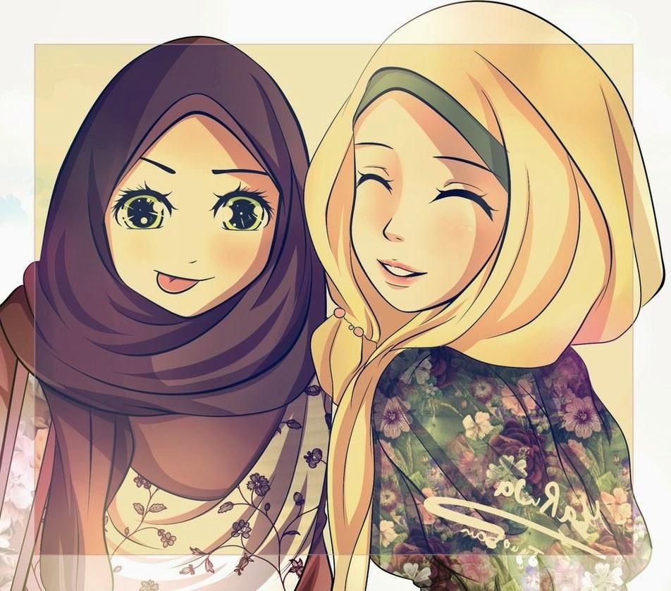 Ide Muslimah Kartun Sahabat 3id6 Kumpulan Gambar Lucu Kartun Persahabatan