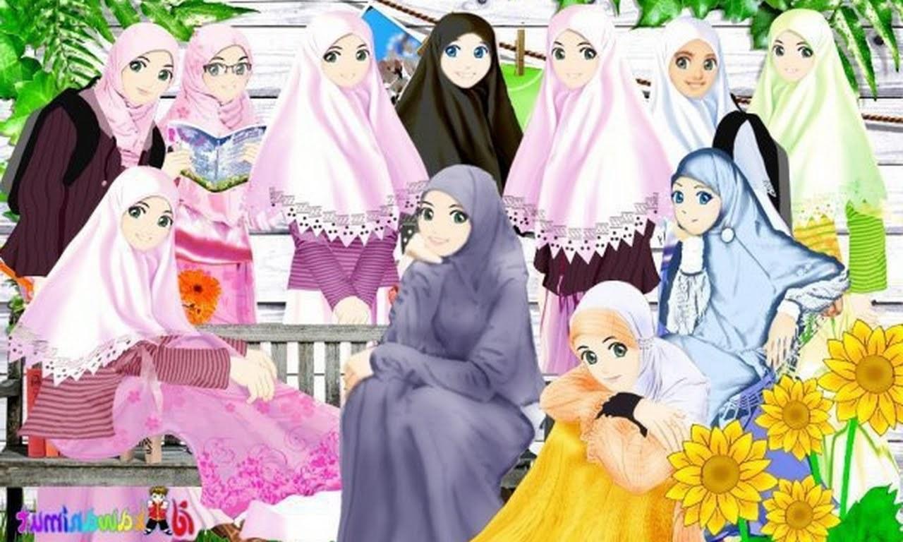 Ide Muslimah Kartun Sahabat 9fdy Gambar Kartun Muslimah Sahabat Sejati