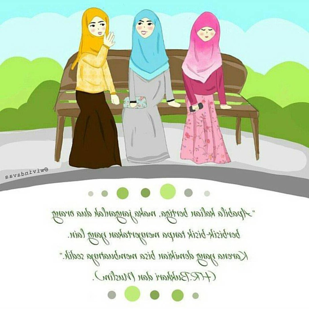Ide Muslimah Kartun Sahabat Dwdk Foto Kartun Muslimah Sahabat