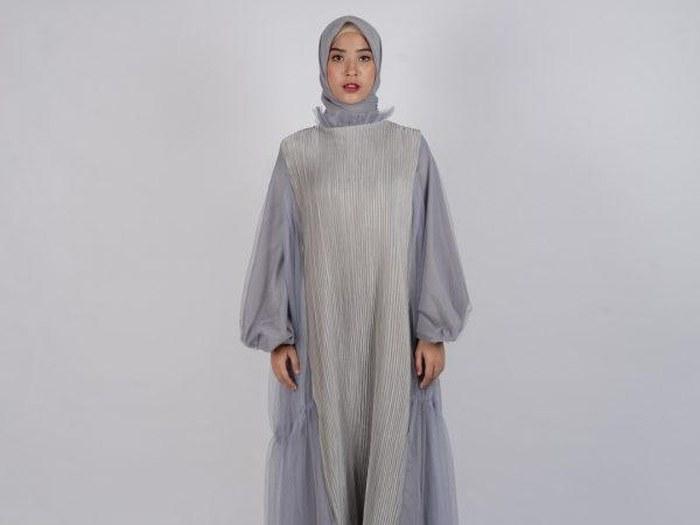 Ide Tren Baju Lebaran 2020 Etdg Tren Hijab Jelang Lebaran 2020 Bahan Voal Dan Motif Monogram