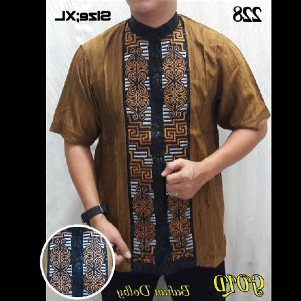 Ide Trend Baju Lebaran 2017 Bqdd Jual Baju Muslim atasan Pria Baju Koko 243 239 Fashion