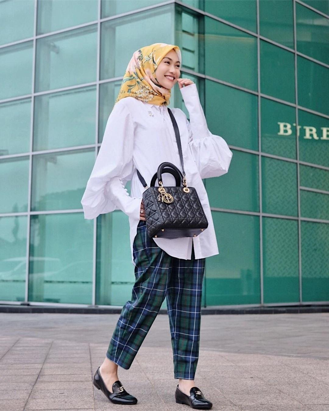 Ide Trend Baju Lebaran Tahun 2019 9ddf 5 Model Hijab Terbaru Yang Jadi Tren Di Tahun 2019