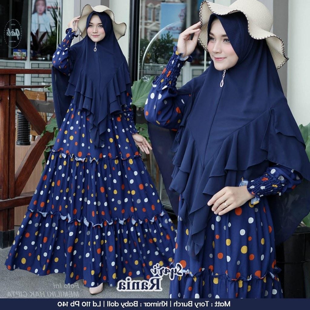 Inspirasi Baju Lebaran 2020 9ddf Model Baju Gamis Lebaran 2020 Rania Gamisalya