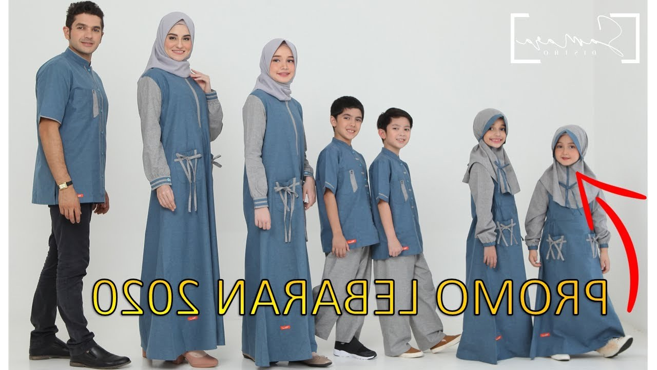 Inspirasi Baju Lebaran 2020 Fmdf Trend Model Busana Baju Gamis Terbaru Lebaran Sarimbit