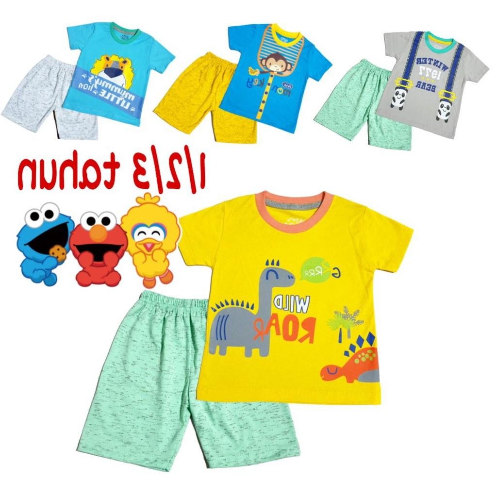 Inspirasi Baju Lebaran Anak Laki Laki Umur 1 Tahun E6d5 Setelan Baju Anak Laki Laki 1 3 Tahun