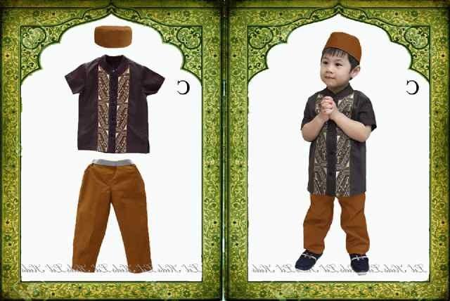 Inspirasi Baju Lebaran Anak Laki Laki Umur 1 Tahun Etdg Baju Anak Branded Murah Dan Berkualitas Setelan Muslim