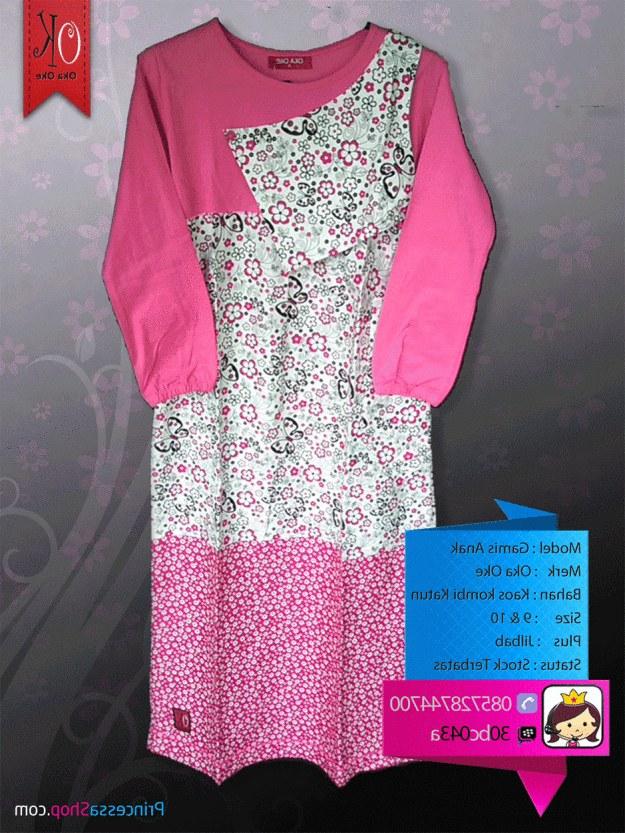Inspirasi Baju Lebaran Anak Perempuan Terbaru Ipdd Model Baju Muslim Anak Perempuan Terbaru
