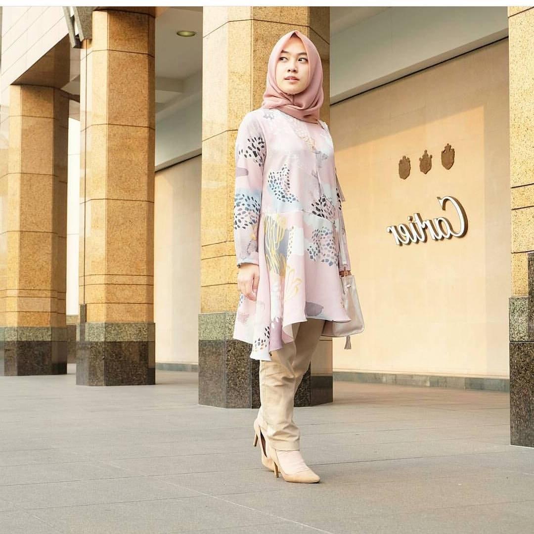 Inspirasi Baju Lebaran atasan 2018 Zwdg 17 Model Baju atasan Muslim 2018 original Desain Trendy