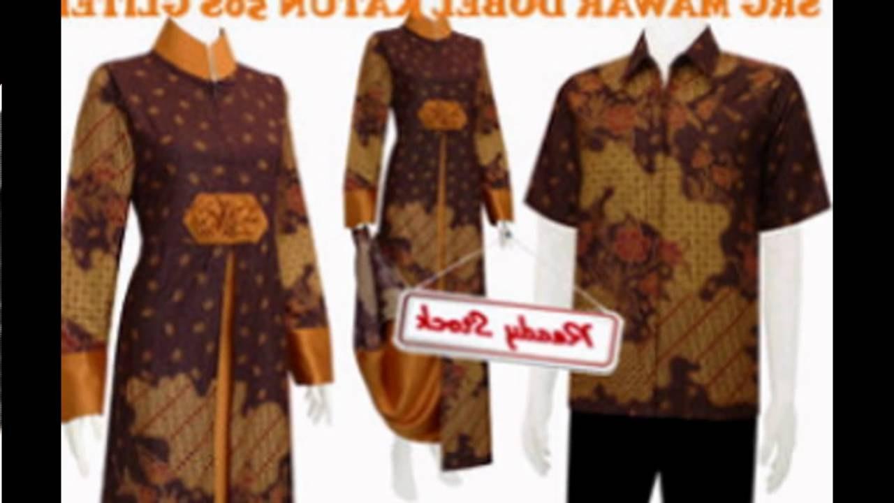 Inspirasi Baju Lebaran Batik Rldj Model Baju Batik Muslim Keluarga Modern Terbaru │batik