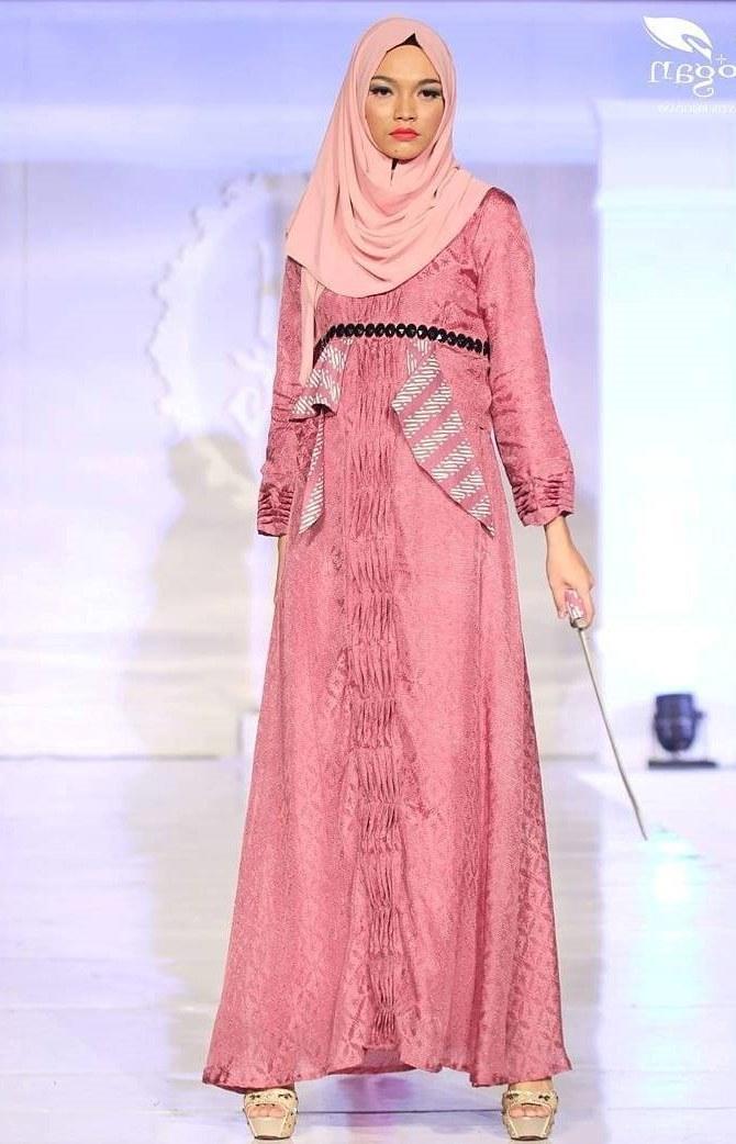 Inspirasi Baju Lebaran Batik Whdr 20 Trend Model Baju Muslim Lebaran 2018 Casual Simple Dan