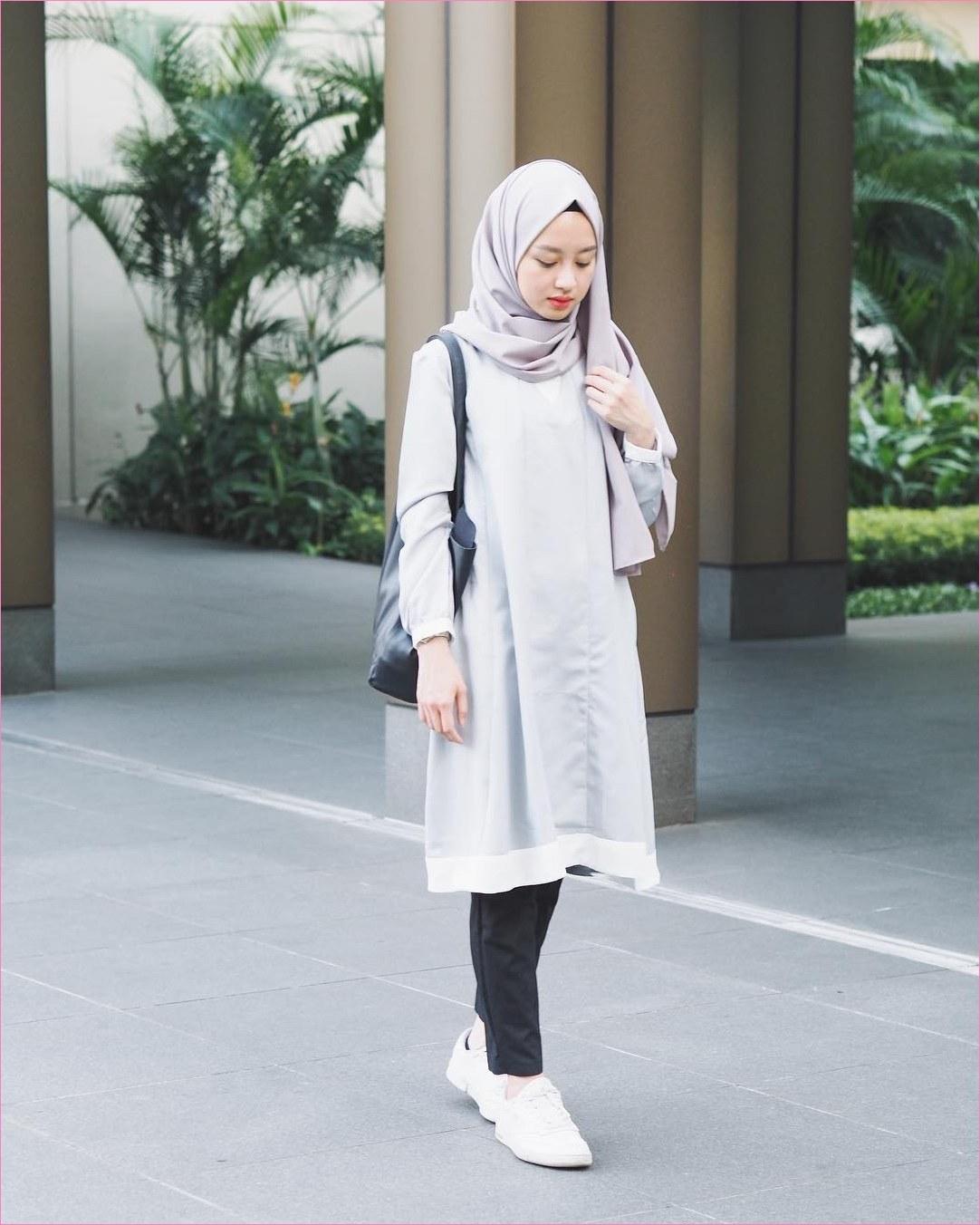 Inspirasi Baju Lebaran Casual 2019 Q5df 32 Model Outfit Casual Wanita Gemuk Ala Selebgram 2019