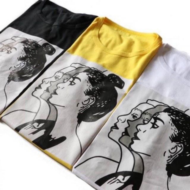 Inspirasi Baju Lebaran Jaman now 3ldq Face Tee Tshirt Jaman now Baju Santai
