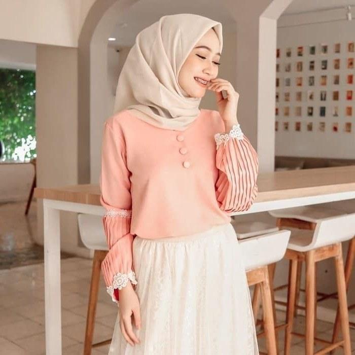 Inspirasi Baju Lebaran Jaman now Dwdk Pin Di Baju Muslim Baju Muslim Jaman now