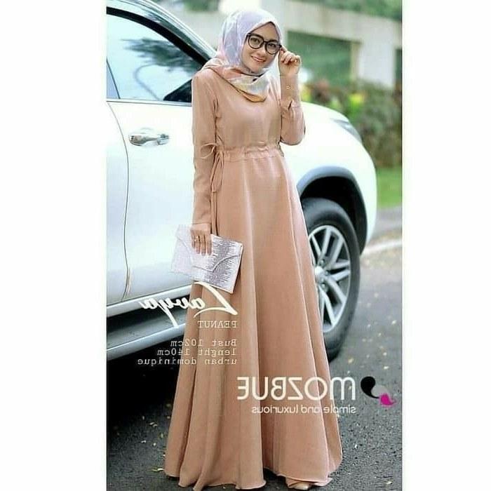 Inspirasi Baju Lebaran Jaman now Jxdu Pin Di Baju Muslim Baju Muslim Jaman now