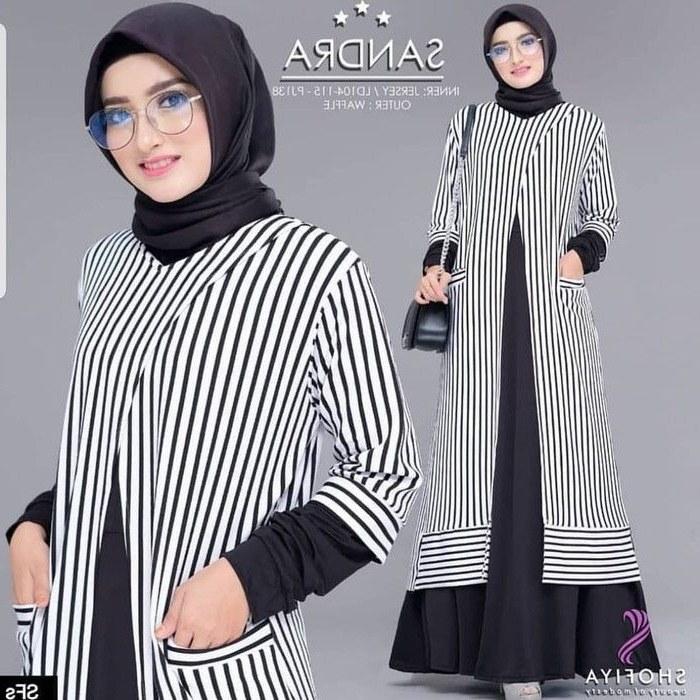 Inspirasi Baju Lebaran Jaman now Y7du Pin Di Baju Muslim Baju Muslim Jaman now