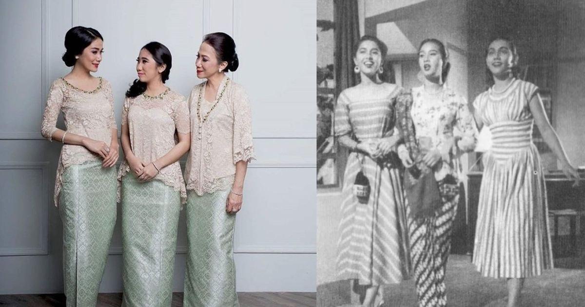 Inspirasi Baju Lebaran Jaman Sekarang Jxdu 9 Foto Perbedaan Ootd orang Dulu Dan Sekarang Perkara