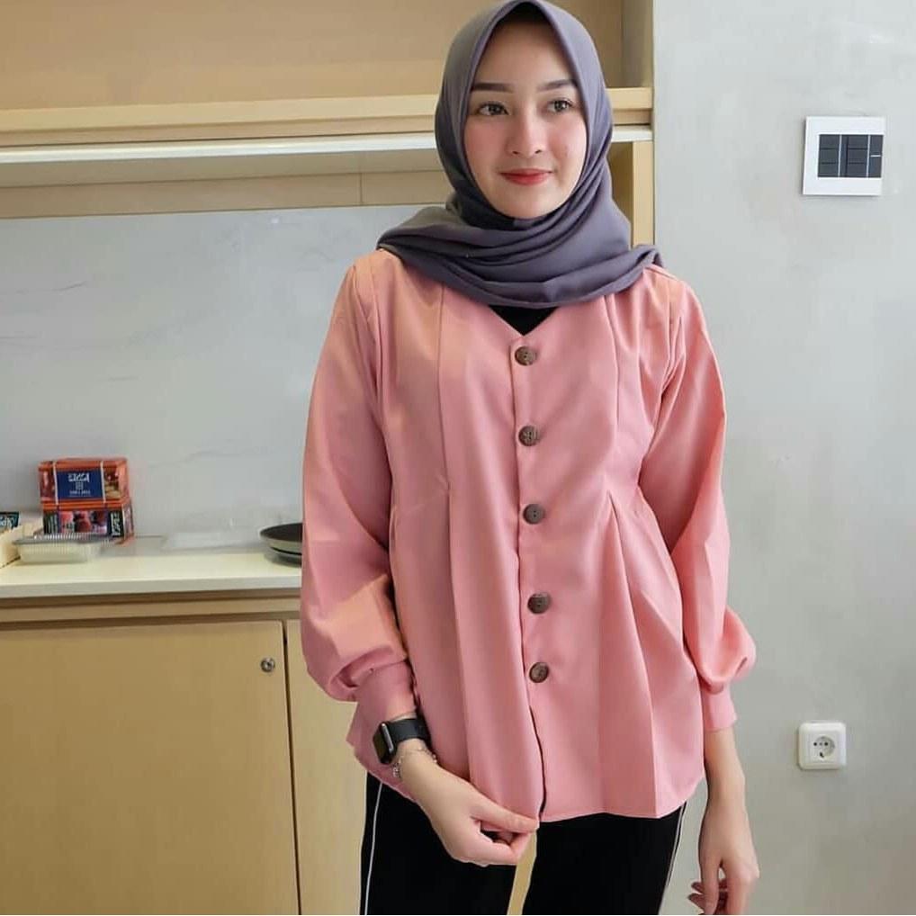 Inspirasi Baju Lebaran Kekinian 2019 4pde Model Gamis Kekinian 2018 Model Gamis 2019