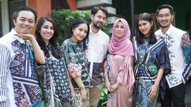 Inspirasi Baju Lebaran Keluarga Anang ashanty E9dx 5 Fesyen Lebaran Selebriti Dari Ayu Ting Ting Hingga Raffi