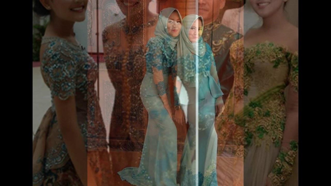 Inspirasi Baju Lebaran Keluarga Anang ashanty J7do Model Kebaya Artis Indonesia Modern Terbaru 2017 Mewah