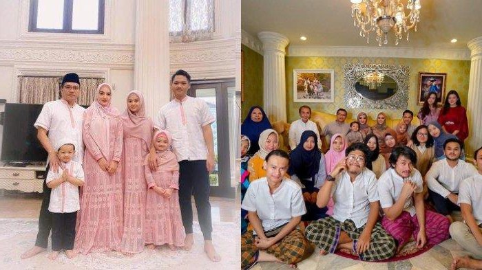 Inspirasi Baju Lebaran Keluarga Anang ashanty Jxdu Sepi Tamu Intip Potret Perayaan Lebaran Di Rumah ashanty