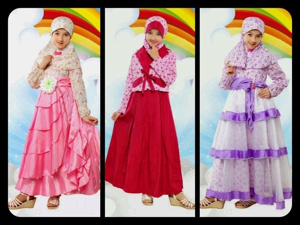 Inspirasi Baju Lebaran Muslim Anak Perempuan Nkde Model Baju Untuk Lebaran Anak Perempuan Dress iPod Dj