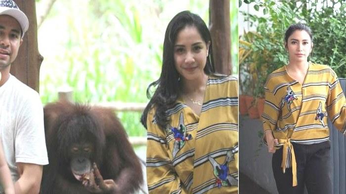 Inspirasi Baju Lebaran Nagita Slavina 2018 4pde Tak Sengaja Kenakan Baju Yang Sama Cantik Nagita Slavina