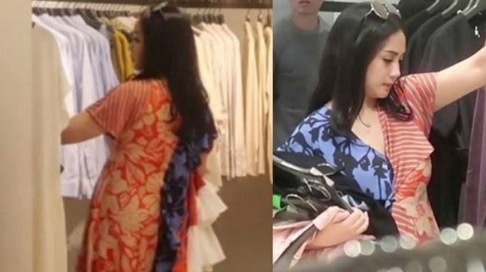 Inspirasi Baju Lebaran Nagita Slavina 2018 9ddf Seperti Baju Tidur Dress Yang Dipakai Nagita Slavina Ini