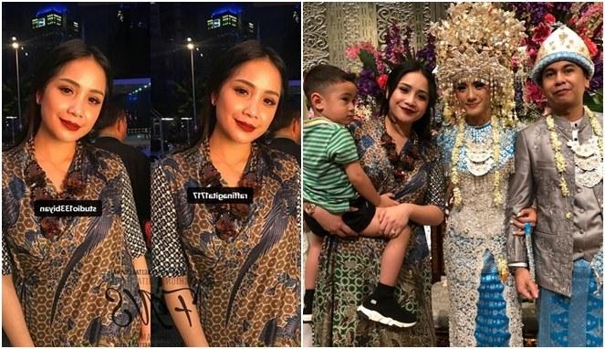 Inspirasi Baju Lebaran Nagita Slavina 2018 T8dj Bertabur Bintang Harga Pakaian 4 Seleb Di Kondangan