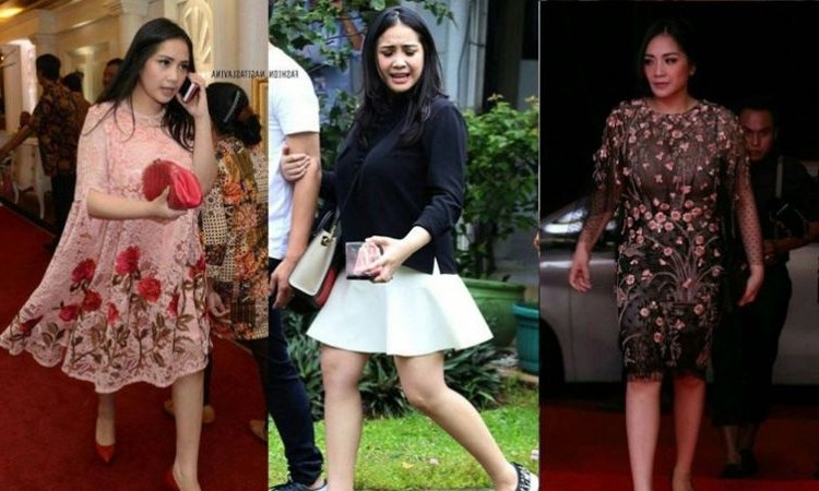 Inspirasi Baju Lebaran Nagita Slavina Jxdu 11 Bukti Nagita Slavina Punya Selera Fashion Simpel Tapi