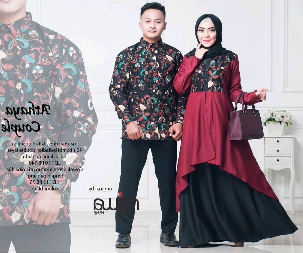 Inspirasi Baju Lebaran Pasangan Suami istri Etdg Baju Lebaran Couple Suami istri Mainmata Studio