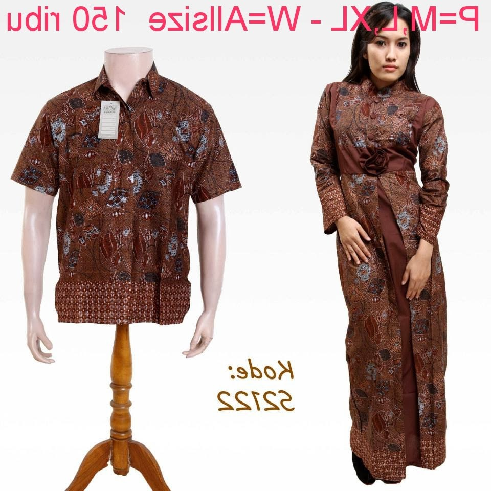 Inspirasi Baju Lebaran Pasangan Suami istri Fmdf Baju Batik Pasangan Suami istri