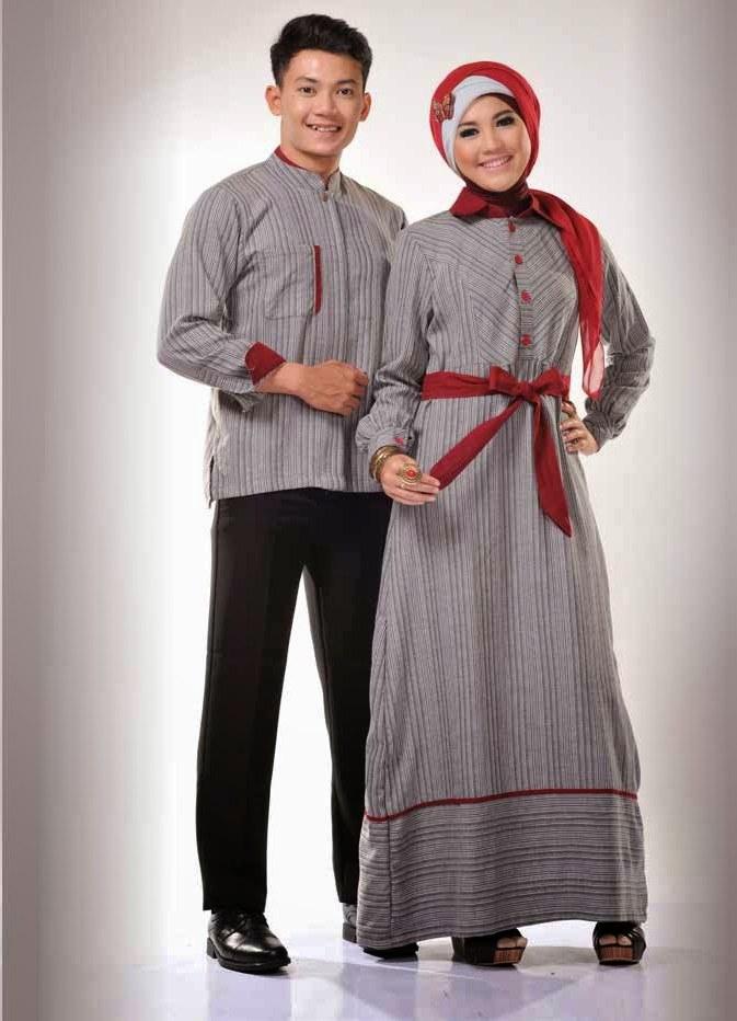 Inspirasi Baju Lebaran Pasangan Suami istri Kvdd 15 Model Baju Muslim Couple Pasangan Terbaik Kumpulan