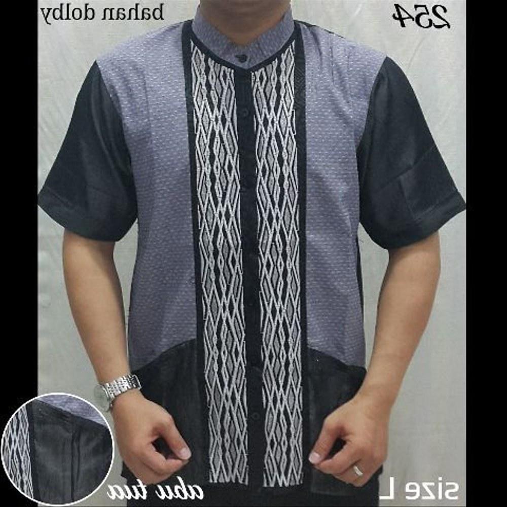 Inspirasi Baju Lebaran Pria Q5df Jual Baju Muslim atasan Pria Baju Koko 254 251 Fashion