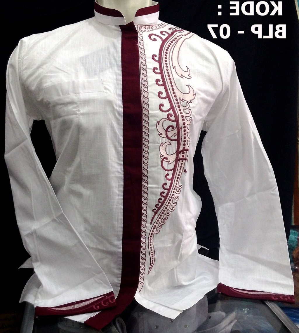 Inspirasi Baju Lebaran Pria Tqd3 Baju Muslim Baju Koko Pria Untuk Lebaran Idul Adha