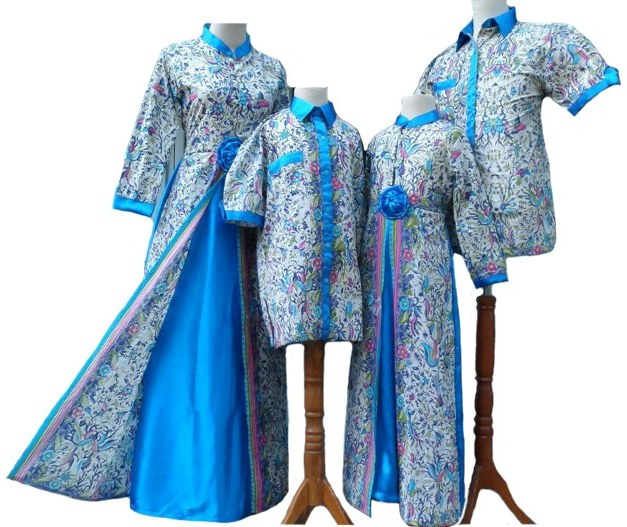 Inspirasi Baju Lebaran Sarimbit Dddy 20 Model Baju Sarimbit Keluarga Untuk Lebaran Tahun Ini