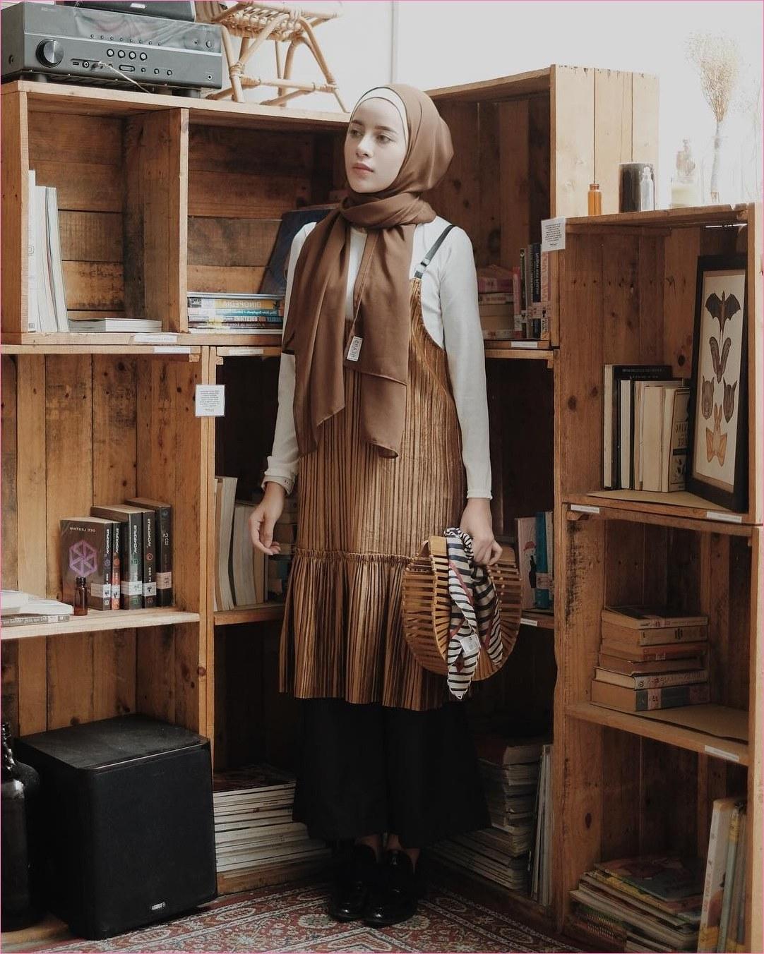 Inspirasi Baju Lebaran Thn 2019 Fmdf 80 Model Baju Lebaran Terbaru 2019 Muslimah Trendy Model