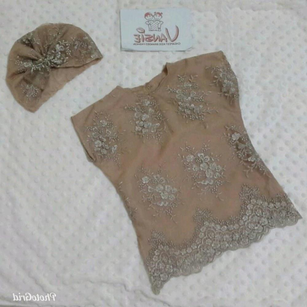 Inspirasi Baju Lebaran Untuk Bayi Perempuan Irdz Jual Baju Muslim Lebaran Bayi Anak Kaftan Set Turban