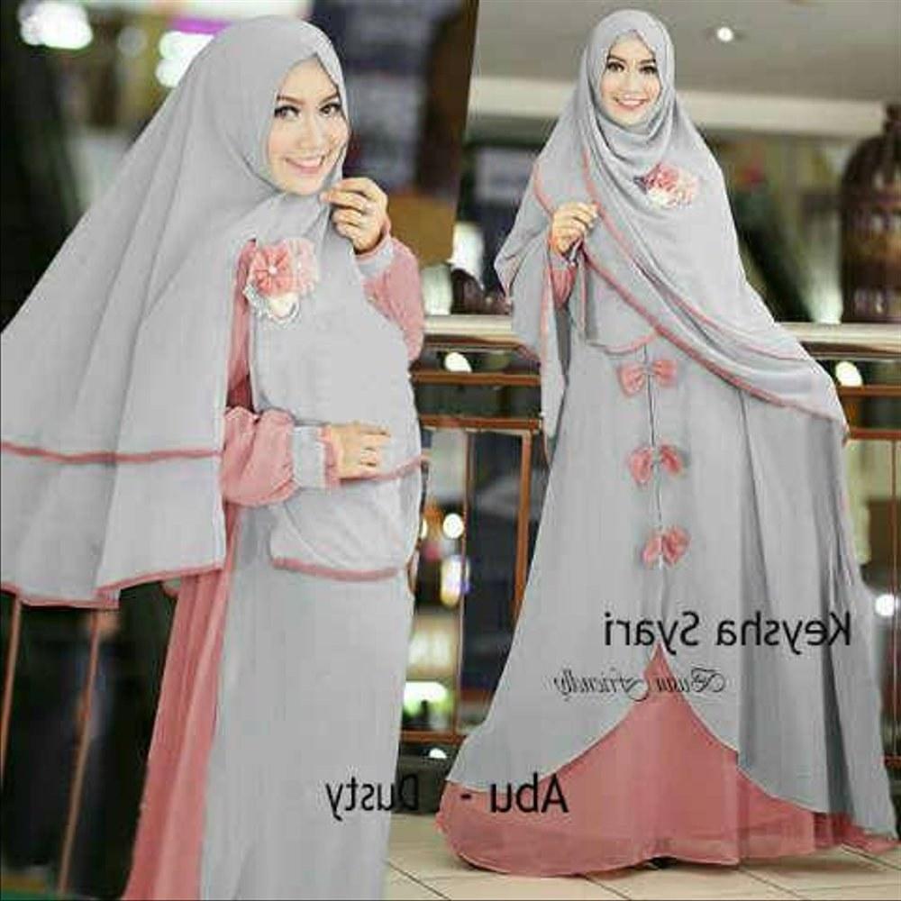 Inspirasi Baju Lebaran Untuk Ibu Menyusui Nkde Jual Rs346 Baju Pakaian Busana Setelen Set Syari Syar I