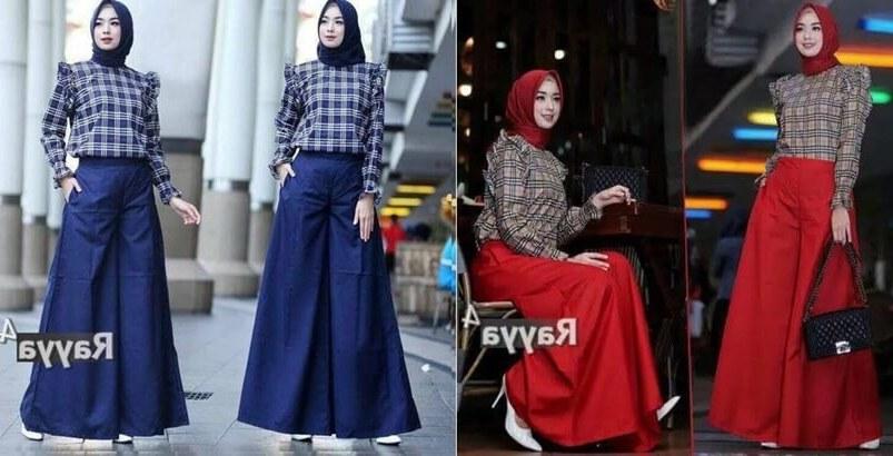 Inspirasi Baju Lebaran Wanita 2019 Fmdf Beberapa Trend Model Baju Gamis Terbaru 2019 Untuk