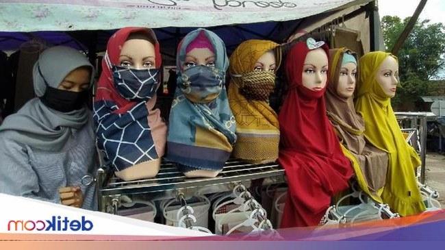 Inspirasi Baju Lebaran Yang Lagi Ngetren 87dx Kerudung Corona Yang Lagi N Ren Di Ciamis Jelang Lebaran