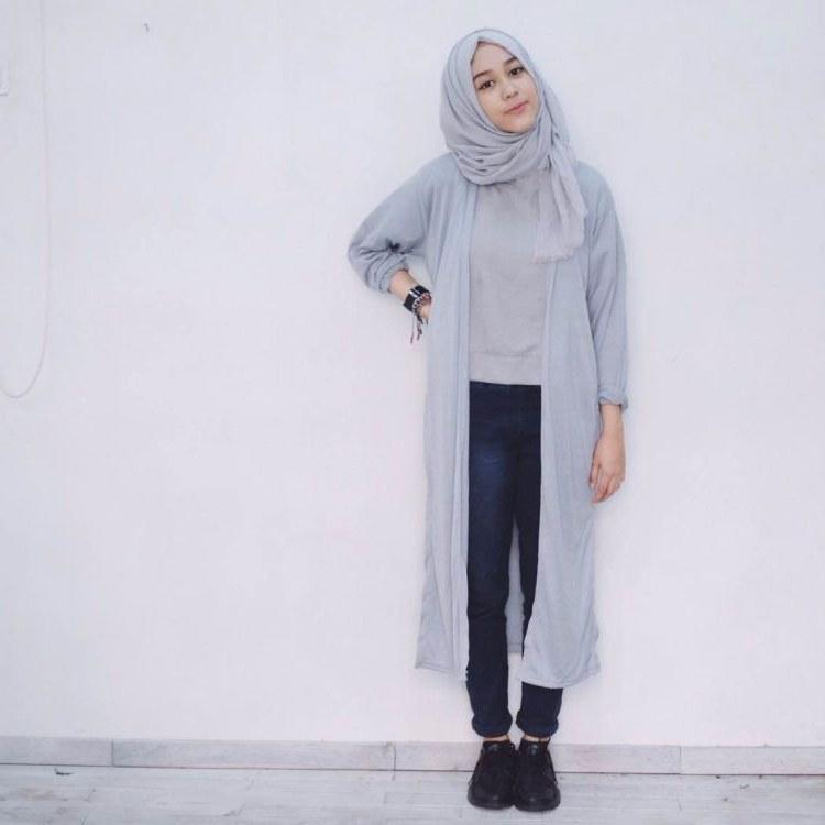 Inspirasi Baju Lebaran Yang Lagi Ngetren E6d5 7 Gaya Hijab Buatmu Yang Nyaman Ber Jeans Dan Kemeja Biar