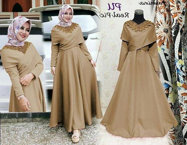 Inspirasi Baju Lebaran Yg Bagus 3id6 30 Model Baju Muslim Yg Bagus Fashion Modern Dan