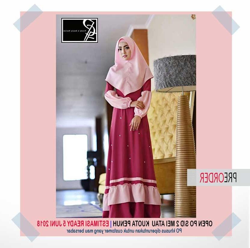 Inspirasi Cari Baju Lebaran S1du Gamis Katun Model Terbaru Jual Baju Muslim Line