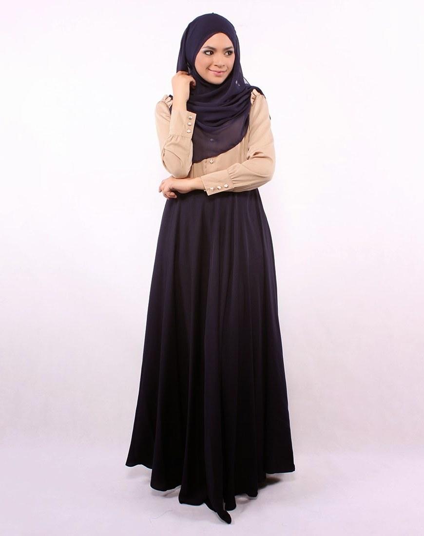 Inspirasi Contoh Baju Lebaran 3id6 25 Contoh Model Baju Muslim Lebaran Idul Fitri Kumpulan