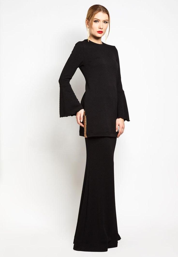 Inspirasi Contoh Baju Lebaran E6d5 Contoh Batik Melayu Ferotoh