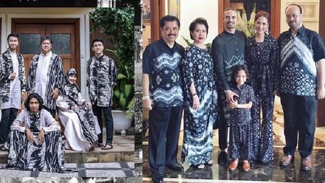 Inspirasi Inspirasi Baju Lebaran Keluarga 2018 87dx Kompaknya 4 Keluarga Artis Saat Pakai Baju Lebaran Bisa