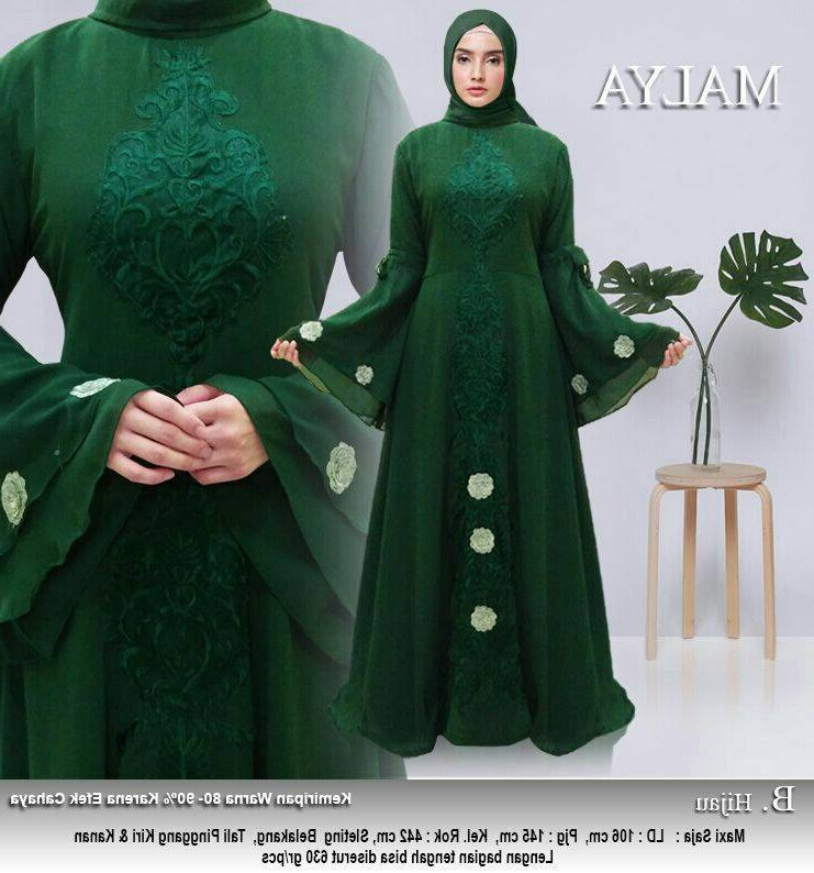 Inspirasi Model Baju Lebaran 2018 Tanah Abang Q5df Model Baju Gamis Lebaran Tanah Abang Malya Gamisalya