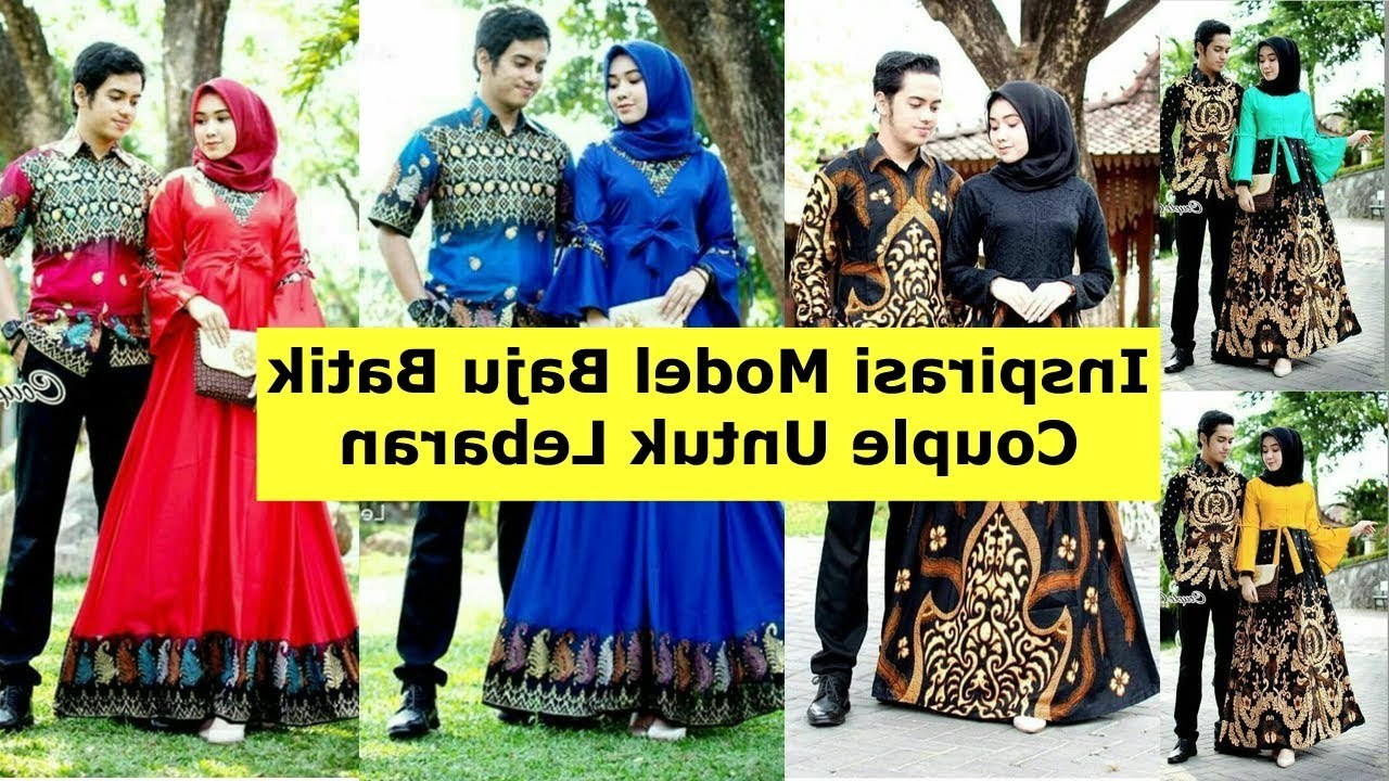 Inspirasi Model Baju Lebaran 2019 Untuk Keluarga Qwdq Model Baju Batik Couple Untuk Lebaran 2019
