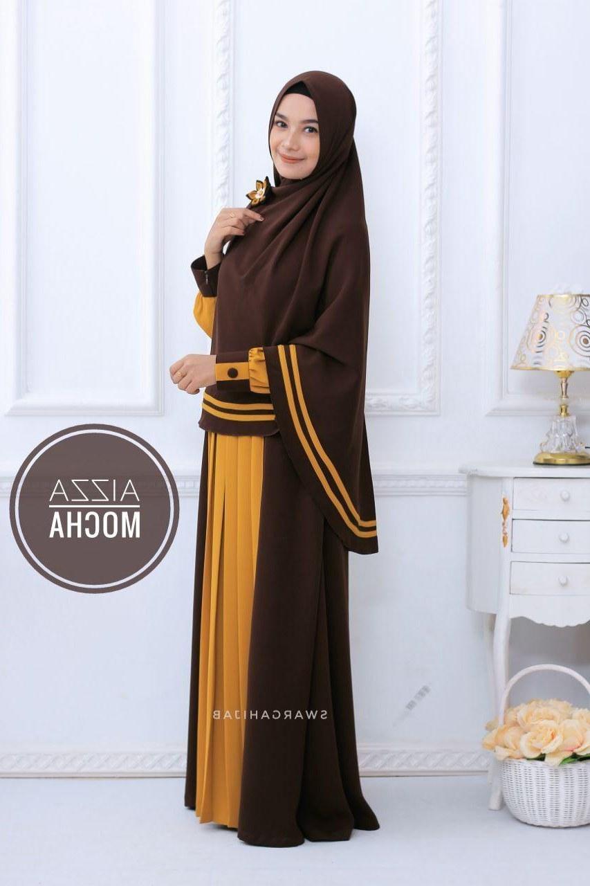 Inspirasi Model Baju Lebaran Anak Perempuan 2018 3id6 Model Baju Gamis Anak Perempuan Terbaru 2018